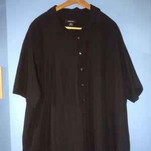 Claiborne Button Up Men's Black Shirt